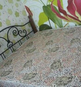 кровать ковка