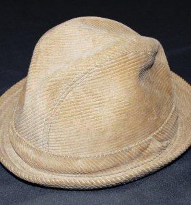 Шляпа новая вельветовая