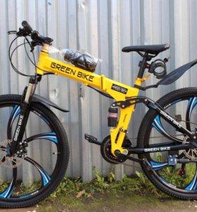 Велосипед складной на дисках