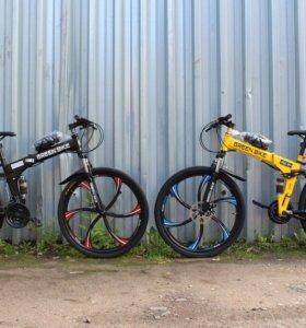 Велосипеды на дисках складные