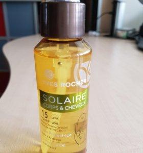 Спрей солнцезащитный для волос и тела spf 15