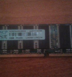 NCP ncpd7audr-50M48 dimm DDR 1Gb PC3200 400Mhz