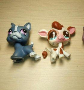 Маленькие игрушки 4 шт