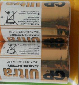 Батарейка алкалиновая GP Ultra