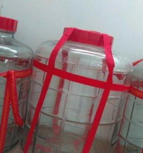 Бутыли с гидрозатвором