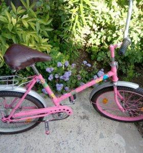 Детский велосипед на 5-9 лет