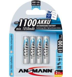 Аккумулятор Ansmann AAA 1100 mAh (4шт.)