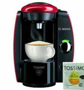 Продаю кофемашину капсульного типа Таssimo bosch