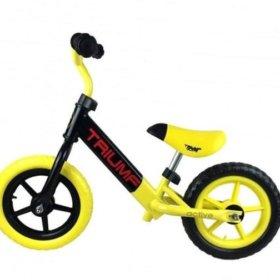 Беговел ( Велобег ) от 1 до 5 лет желто-черный