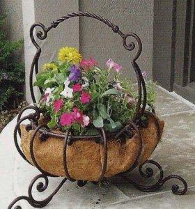 садовые кашпо (Художественная ковка)