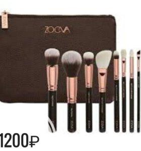 Набор кистей для макияжа Zoeva 8шт