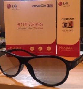 3D очки LG для телевизора