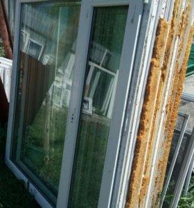 Окна металлопластиковые бу