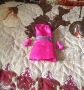 Платье и туфли для кукол