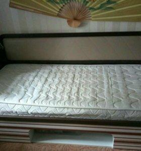 Кровать подростковая+ортопедический матас