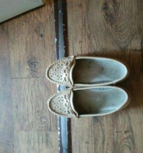 Ботинки на девочку 36р.