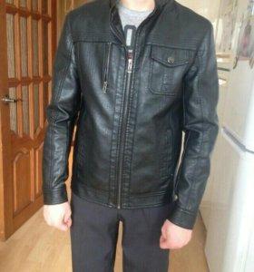 Куртка-кожа