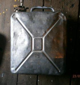 Канистра 20л алюминий СССР