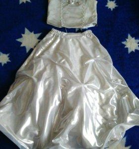 Красивое платье на девочку от 6 до 9 лет