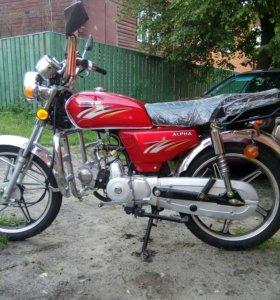 Мопед Racer Alfa CM 70