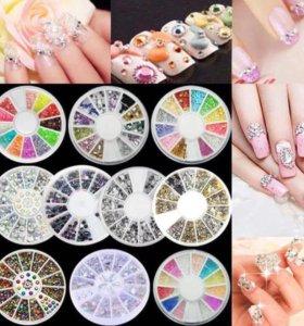 Набор стразов для дизайна ногтей
