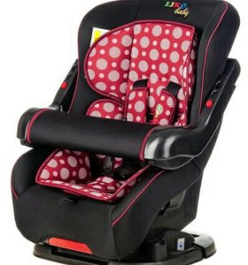 Автокресло Liko-Baby LB 301 Черный/Бордовый