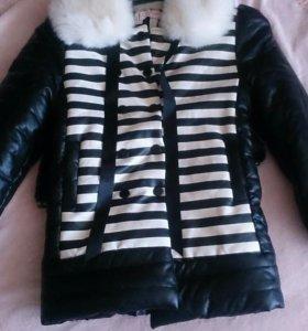 Куртка новая девочка