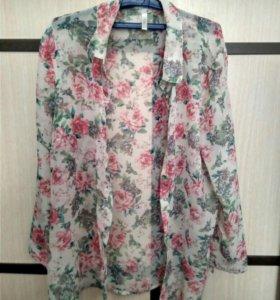 Блуза лёгкая