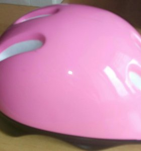 Шлем защитный детский розовый