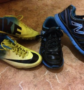 Бутсы и кроссовки (за 2 пары)👟