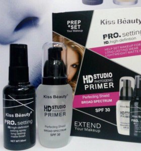 Kiss Beauty основа под макияж и фиксатор