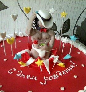 Торт на заказ! Вкусно! Красиво! Недорого!