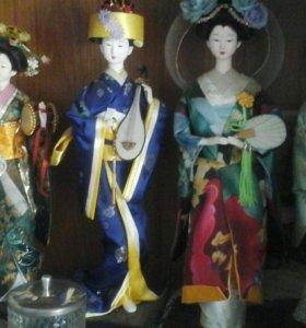 куклы-японки (фарфор)