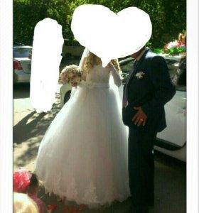 Счастливое свадебное платье !!!!