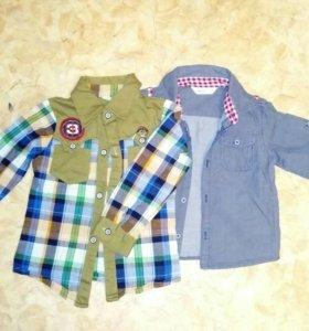 Рубашки детские 95-98см