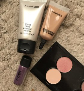 Косметика б/у Mac, Maybelline, Ardell