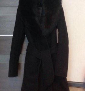 Зимнее пальто на овчине
