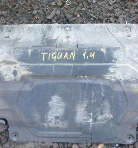 Защита картера для VW Tiguan 2007-
