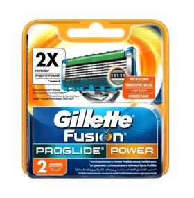 Кассеты Gillette Fusion ProGlide Power
