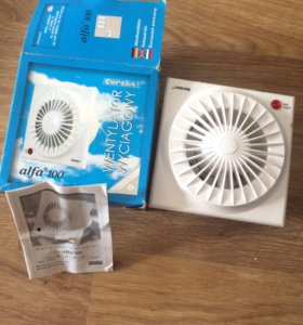 Вентилятор канальный wyciagowy alfa 100