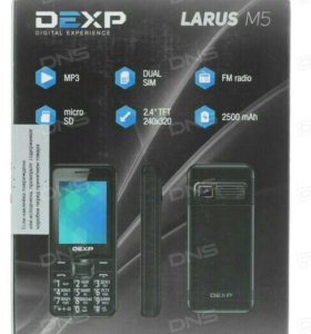 Dexp Larus M5 с большой батареей!