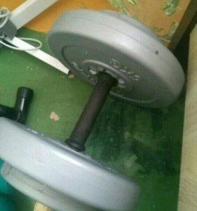 Гантеля 15 кг