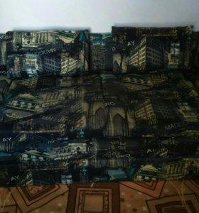 """Диван """"Манхэттен"""" раскладной с подушками"""