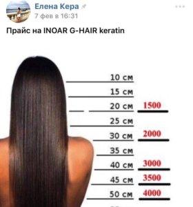 Кератиновое выпрямление(восстановление)волос ИНОАР
