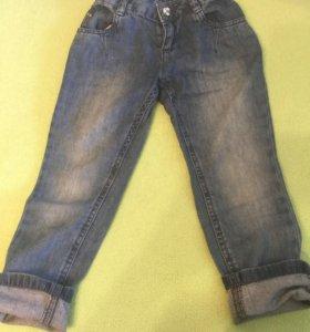 Джемпер и джинсы mothercare для девочки размер 104