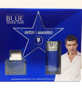 ОРИГИНАЛ ANTONIO BANDERAS Blue Seduction for Men