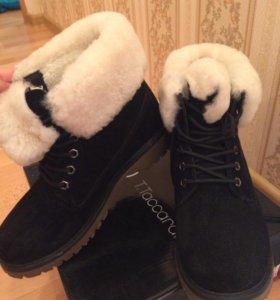 Зимние ботинки,женские