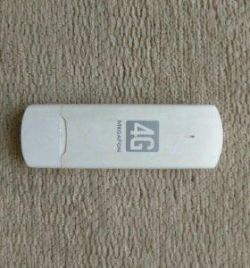 4G+ (LTE) модем M100-4 (белый), до 100 Мбит/сек