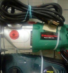 Перфоратор hammerflex udd1200a
