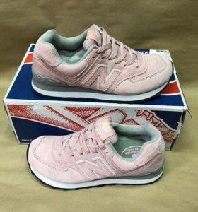 Кроссовки женские розовые new balance